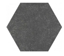 Waxman Traffic Grey Hexagonal 25cm Tiles