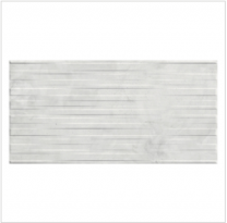 Gemini Marblestone Marble White Décor Satin Tile - 600x300mm