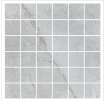 Gemini Palace Cool Slate Mosaic Matt Tile - 300x300mm