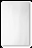 RAK Ceramics Whites White Bumpy Tile - 25x40cm