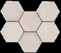 Continental Tiles Rewind Vanilla Rettificato Tiles - 210x180mm