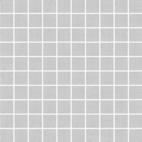 Pietra Pienza Light Grey Mosaic Tile - 30x30mm