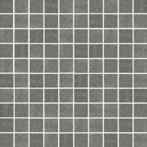 Pietra Pienza Dark Grey Mosaic Tile - 30x30mm