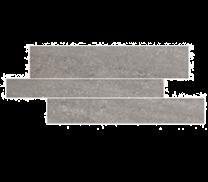 Pietra Pienza Dark Grey Rectified Cut Décor - 600x300x9mm