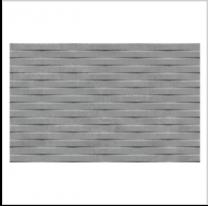 Gemini Cement Tech Mini Grey Décor Tile - 400x250mm