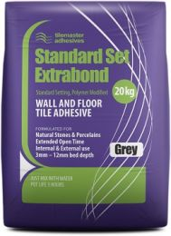 Tilemaster Adhesives Standard Set Extrabond White 20kg