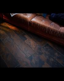 Peacock slate nero effect porcelain floor tile
