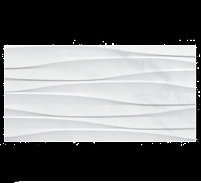 CTD Gemini Tiles Keraben Kingston Concept White Brillo Ceramic Wall Tiles 60x30
