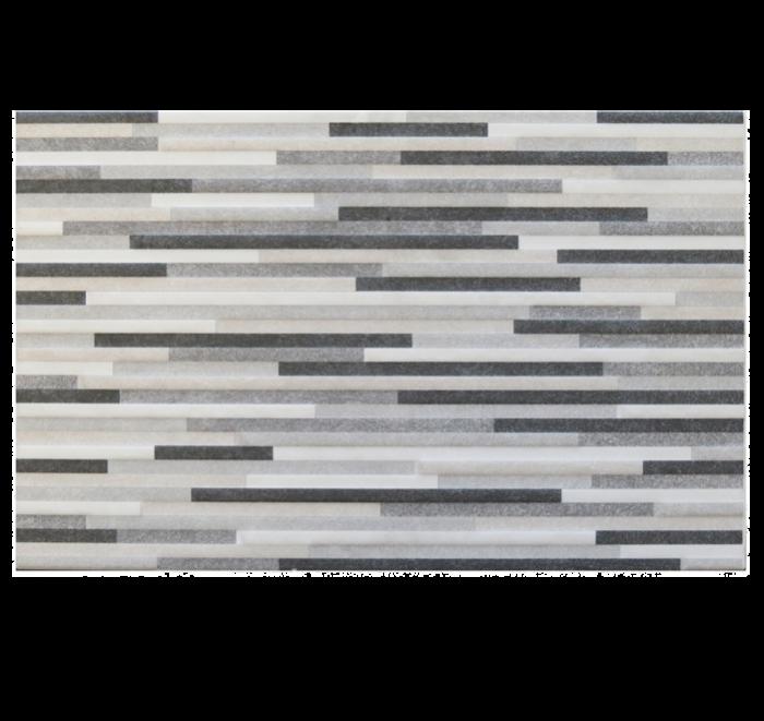 Gemini Tiles Recer Evoke Grey Decor Ceramic Wall Tiles 25x40