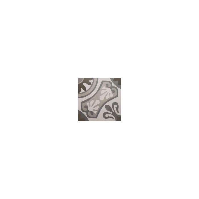 Moresque Encaustic Effect Sofia Gris 33 Tile - 333x333mm