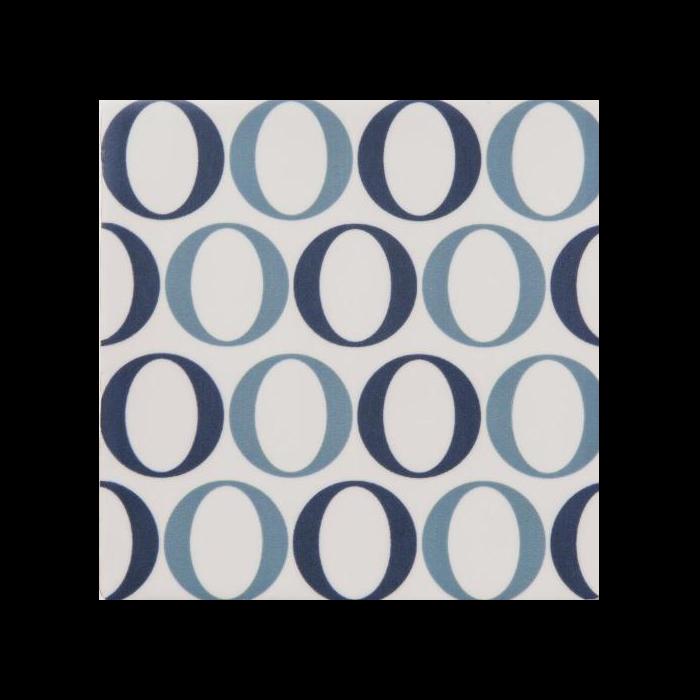 Soho Tiles Blue Des Circles Tiles 140x140mm