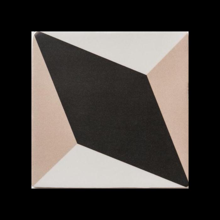 Soho Beige Des Diamond Tile - 140x140mm