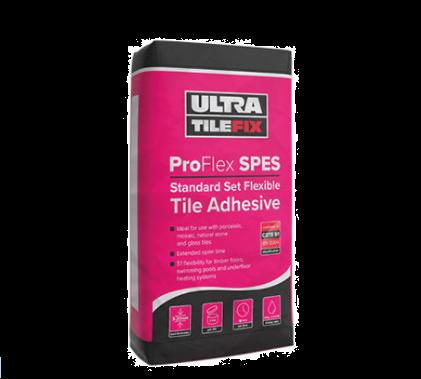 UltraTileFix ProFlex SPES 20KG White flexible tile Adhesive 20 Bag Pallet Offer