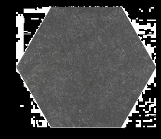 Traffic Dark Hexagonal 25cm Tiles