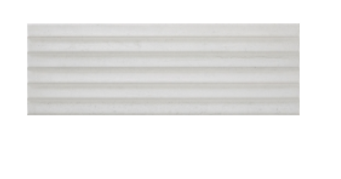 Continental Tiles Rocersa Sunset White Relieve Wall Tiles - 200x600mm