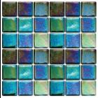 Waxman Ceramics Iridis Verbena Tile
