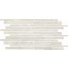 Crossover Mattoncino Avorio White Mosaic Tile