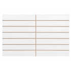 Gemini Tiles Vitra Allure White Scored Tile - 400x250mm