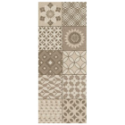 Metropoli Brown Isole Decor Wall Tile - 500x200mm