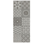 AB Ceramics Metropoli Grey Isole Decor Ceramic Wall Tiles 500x200mm