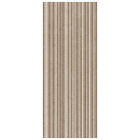 AB Ceramics Metropoli Brown Slot Decor Ceramic Wall Tiles 500x200mm