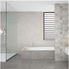 AB Ceramics Metropoli Grey Ceramic Floor Tiles 447x447mm