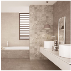 AB Ceramics Metropoli Brown Isole Decor Ceramic Wall Tiles 500x200mm