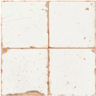 Vintage Industrial 33 Tiles Artisan-B White 33x33 Tiles