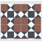 Continental Tiles Heritage Collection Cardiff Burdeos Feature Wall and Floor Tiles 45x45