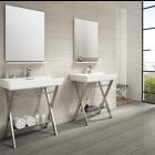 Bolina Bone Porcelain Wall & Floor Tile - 600x300mm