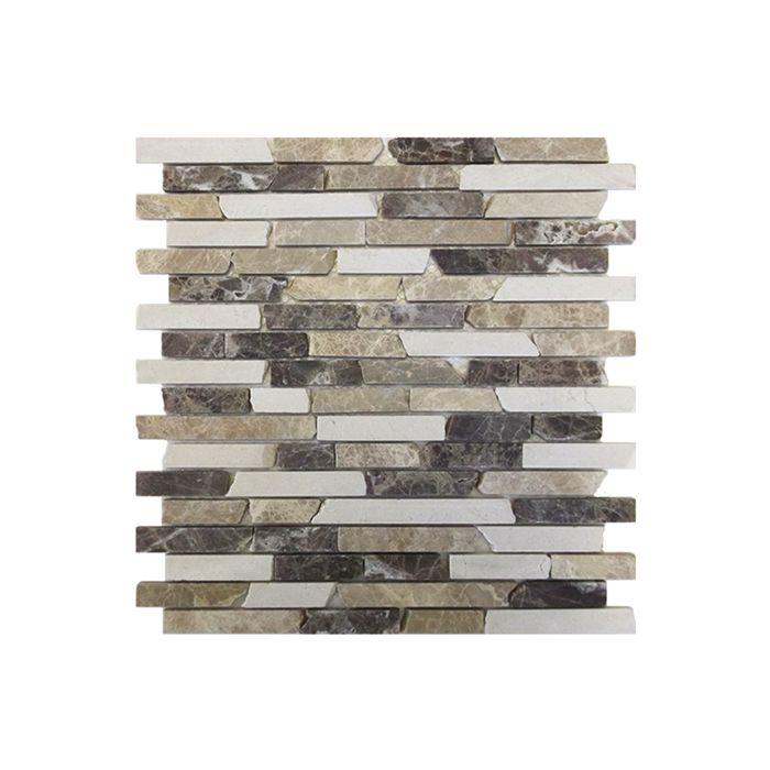 Gemini Mosaics Pembroke Crema Tile - 300x300mm