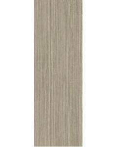 SYMMETRY 25X76 FANGO / BEIGE SATIN TILE