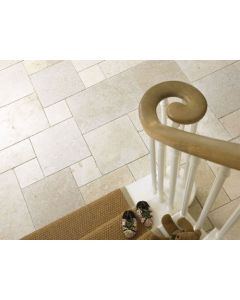 Marshalls Tile and Stone Aegean Cream Roman Opus limestone tiles