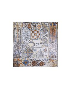 ool White Design Memory Tile - 600x600mm