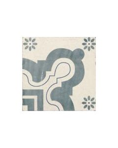 Tangier Antiqua Decor Floor Tile - 200x200mm