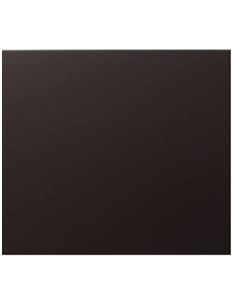 Vitra Streamline Matt Black Tile - 400x250mm