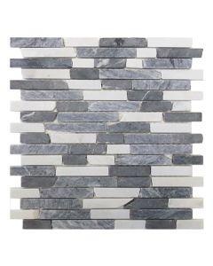 Gemini Mosaics Pembroke Gris Tile - 300x300mm