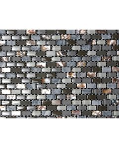 Marshalls Tile and Stone Mosaics Dahli Grey Brick Mosaic