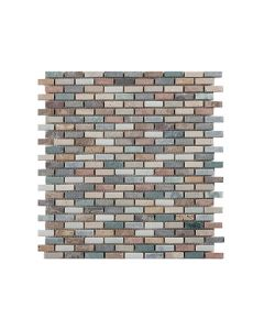 Marshalls Tile and Stone Mosaics Harlequin Brick mosaic