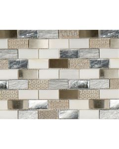 Marshalls Tile and Stone Coromell Mosaic - 298x298mm