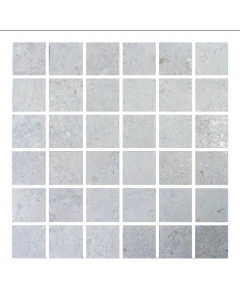 CTD Gemini Tiles King Tiles Hillock Light Grey Mosaic 300x300mm Wall and Floor Tiles at Tiledealer