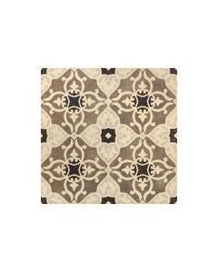 Fiore Brown Decor Tile - 450x450mm