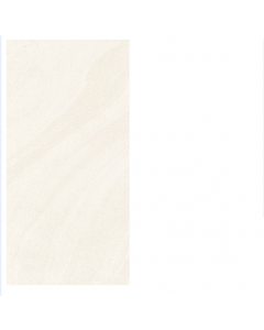 Esha Stone Oceania Wave Alabaster White Polished Wall and Floor Tiles 60x30