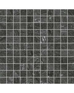 Continental Tiles Eterna Graphite Mosaic Tiles - 300x300mm