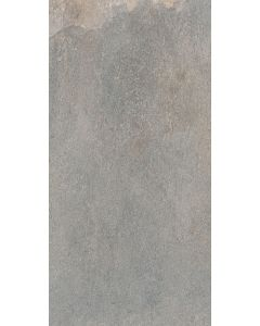 Elmina Yukon Grey Semi Polished Porcelain Tile - 600x300mm
