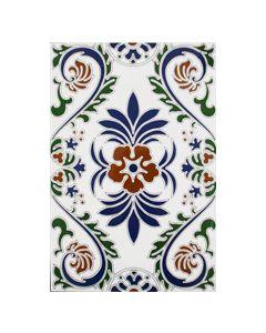 Zocalo Granada Decorated Field Tile - 300x200mm
