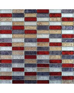 Hong Kong Tiles Autumn Mix Brick Mosaic Tiles 302x297mm