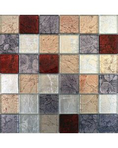 Hong Kong Tiles Autumn Mix Square Mosaic Tiles 302x297mm