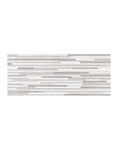 Herberia Ceramiche Habita Struttura Stick Grey Ceramic Decor Wall Tiles 50x20