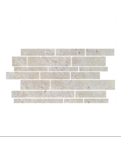 CTD Gemini Tiles King Tiles Hillock Cream Mosaic 513x300mm Wall and Floor Tiles at Tiledealer